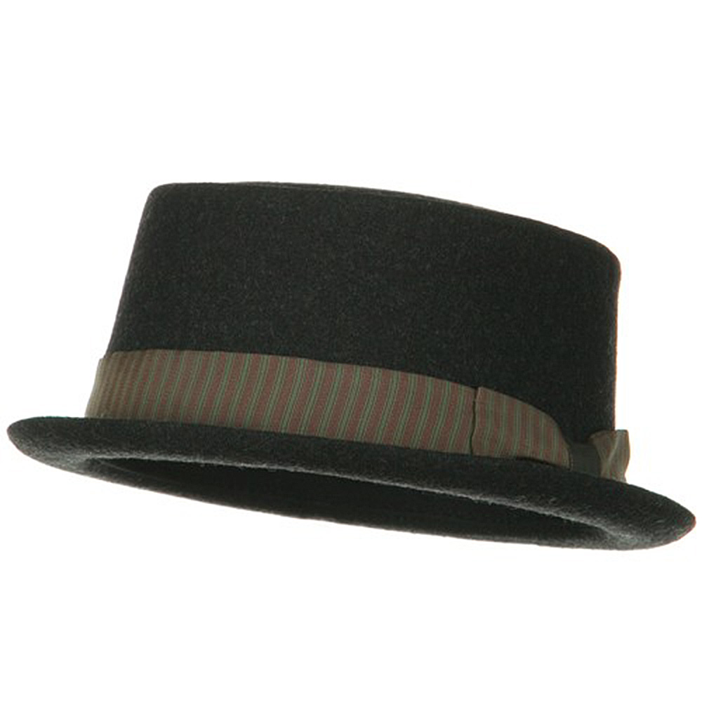 Many Moods Men's Felt Hat - Charcoal - Hats and Caps Online Shop - Hip Head Gear