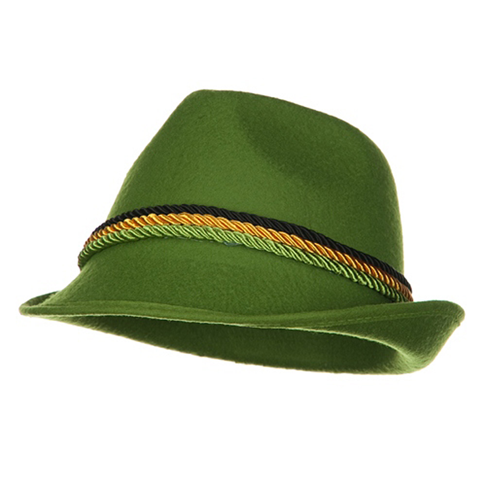 Green Alpine Hat - Fedora - Hats and Caps Online Shop - Hip Head Gear