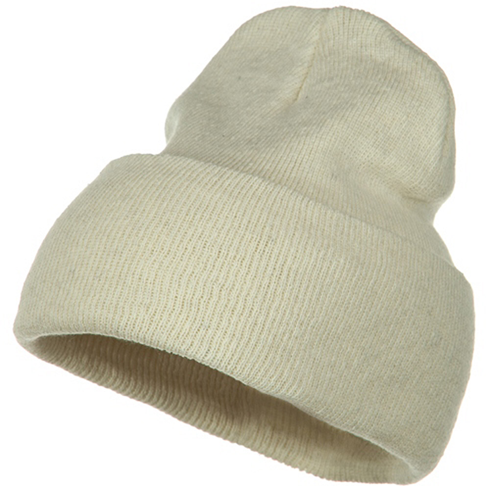 Big Stretch ECO Cotton Long Beanie - Milk - Hats and Caps Online Shop - Hip Head Gear