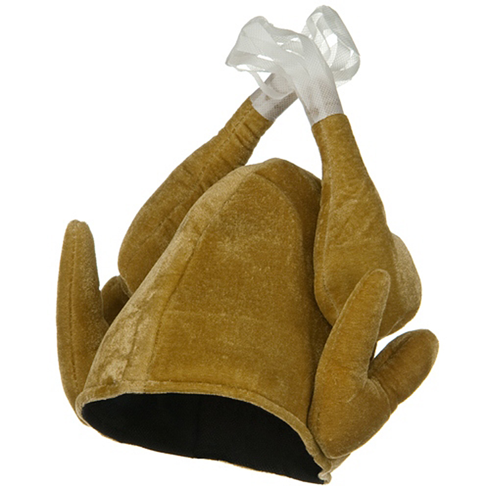 Plush Turkey Hat - Brown - Hats and Caps Online Shop - Hip Head Gear