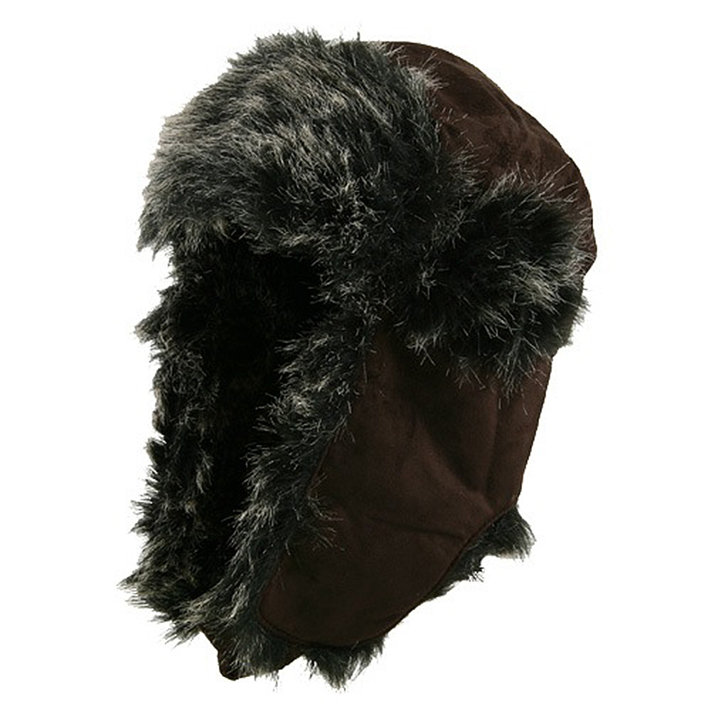 New Suede ML Winter Trooper Hat - Chocolate - Hats and Caps Online Shop - Hip Head Gear