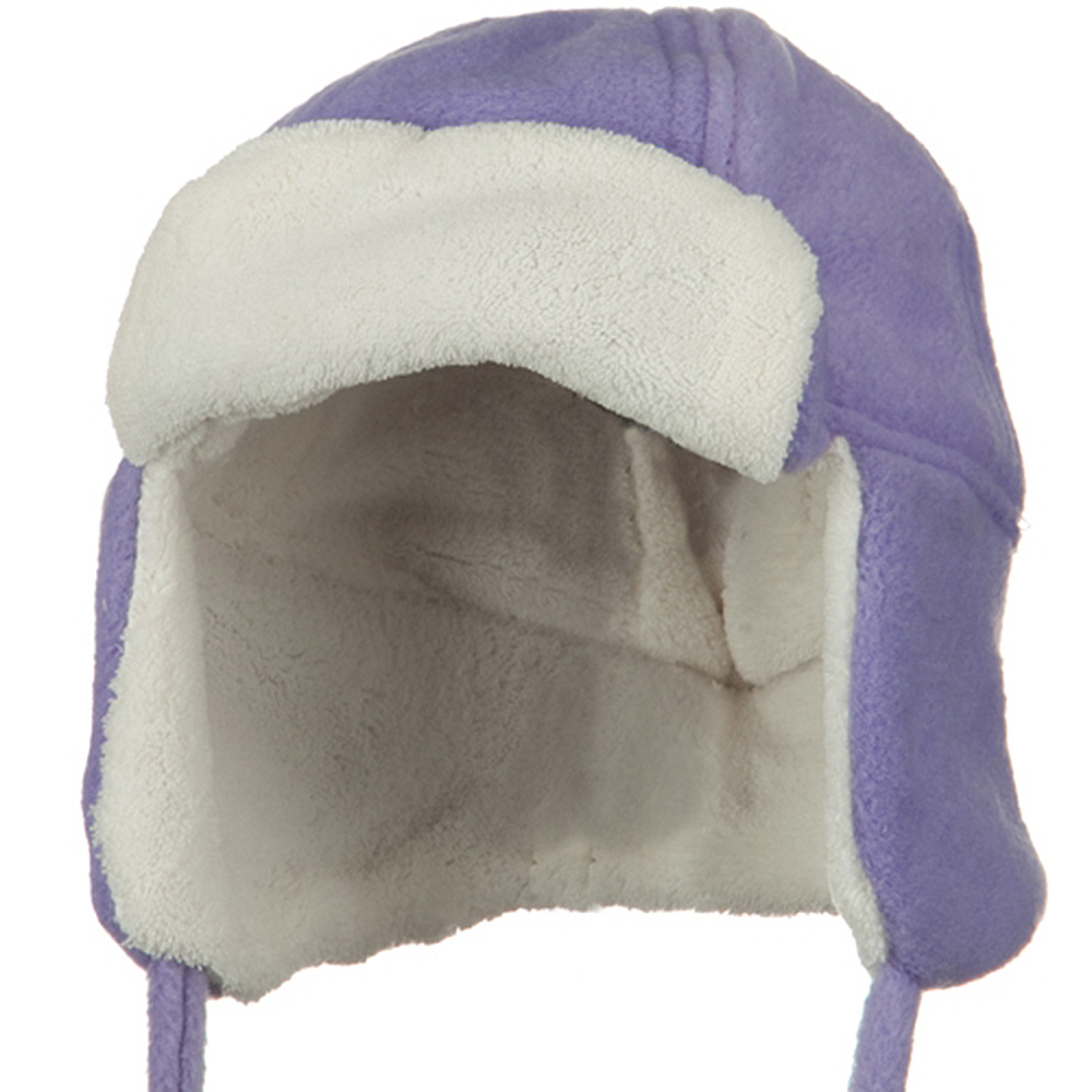Infant Fleece Trooper Hat - Lavender - Hats and Caps Online Shop - Hip Head Gear