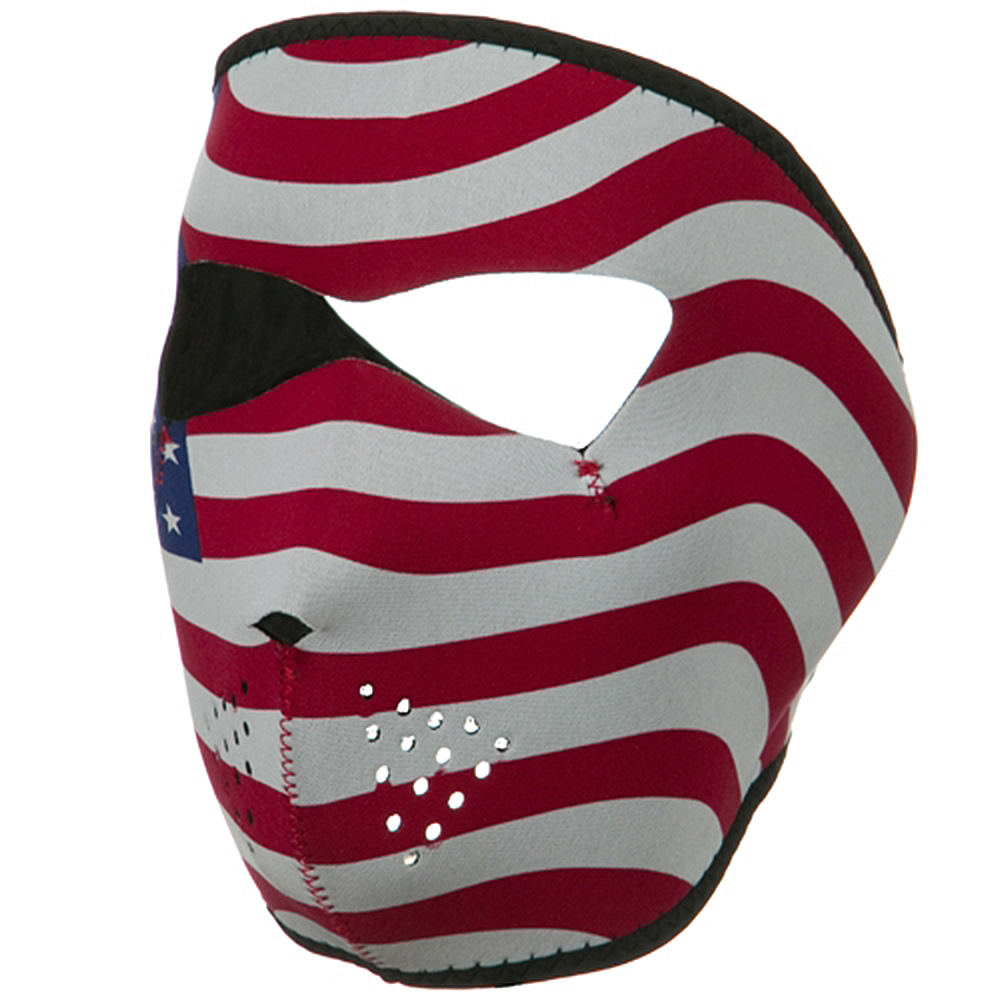 Neoprene Full Face Mask - Usa Flag - Hats and Caps Online Shop - Hip Head Gear