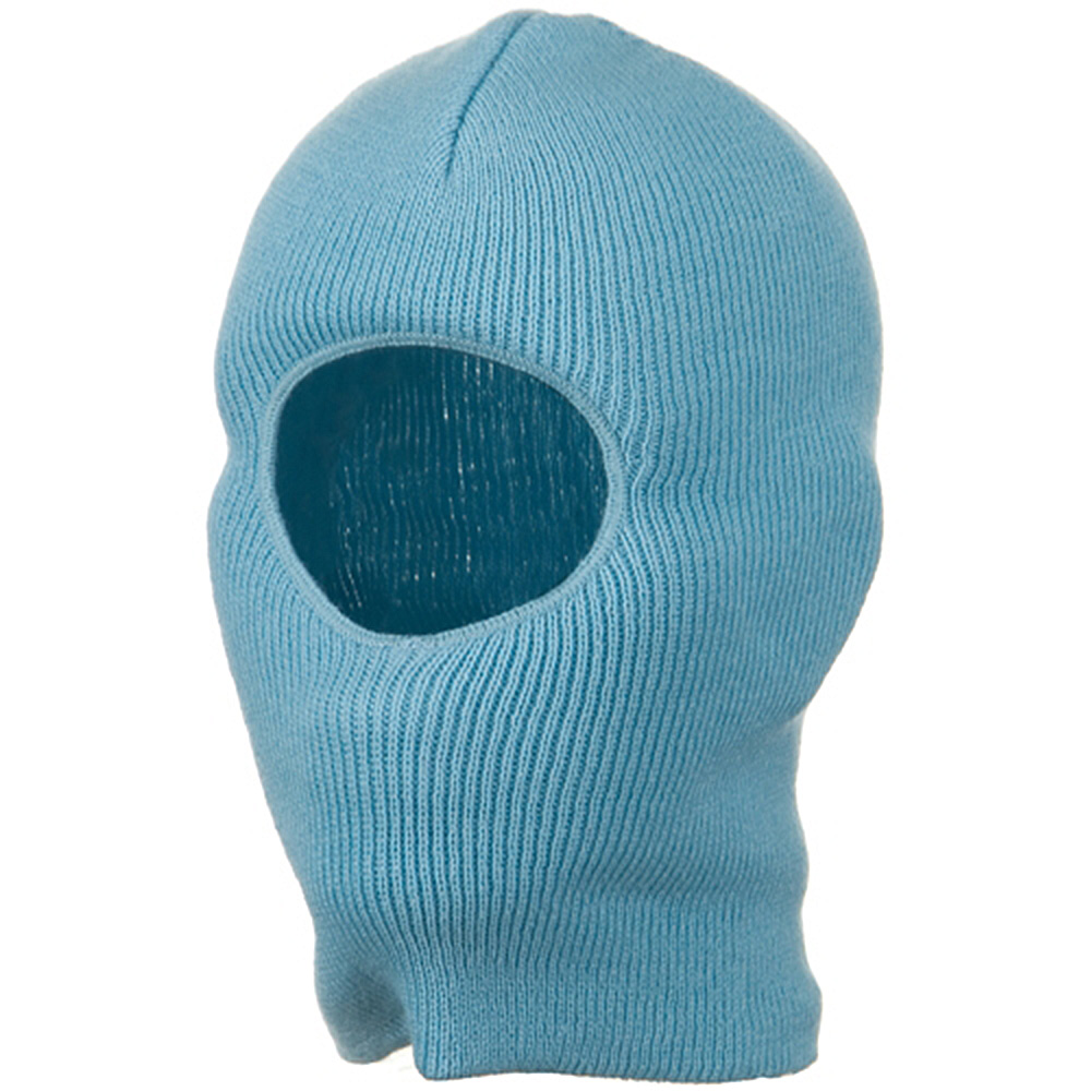 One Hole Child Face Mask - Light Blue - Hats and Caps Online Shop - Hip Head Gear