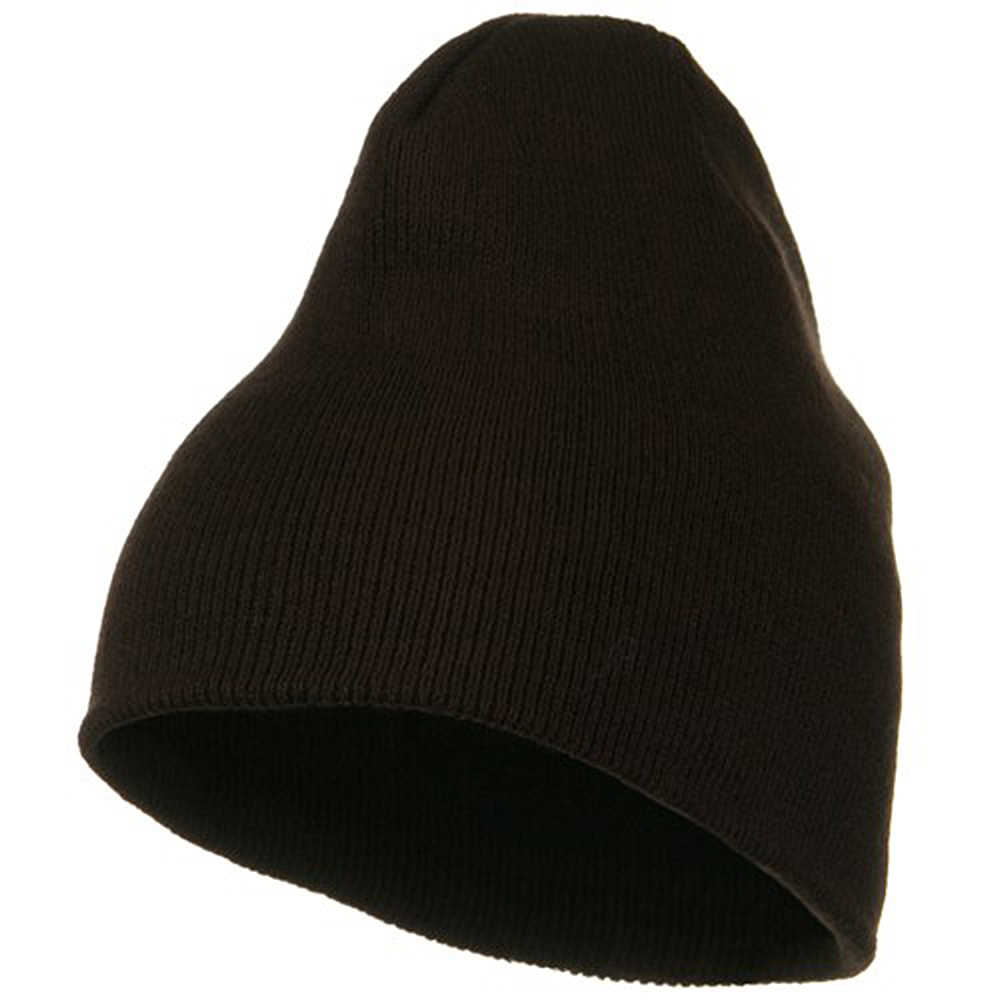 Classic Beanie Stretch - Brown - Hats and Caps Online Shop - Hip Head Gear