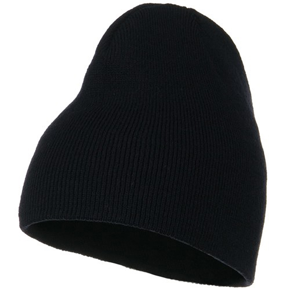 Classic Beanie Stretch - Navy - Hats and Caps Online Shop - Hip Head Gear
