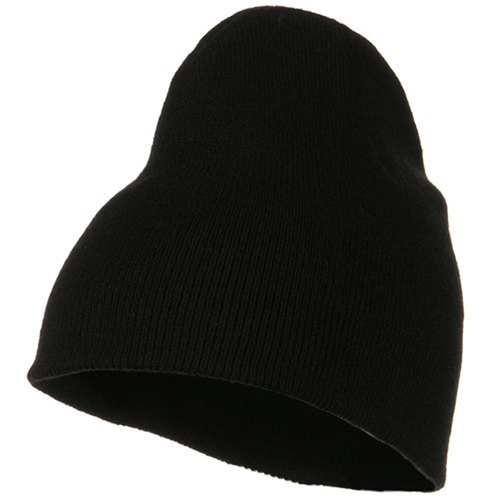 Classic Beanie Stretch - Black - Hats and Caps Online Shop - Hip Head Gear