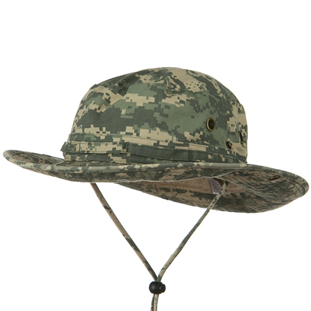 Big Size Washed Hunting Hat-Digital Camo - Hats and Caps Online Shop - Hip Head Gear