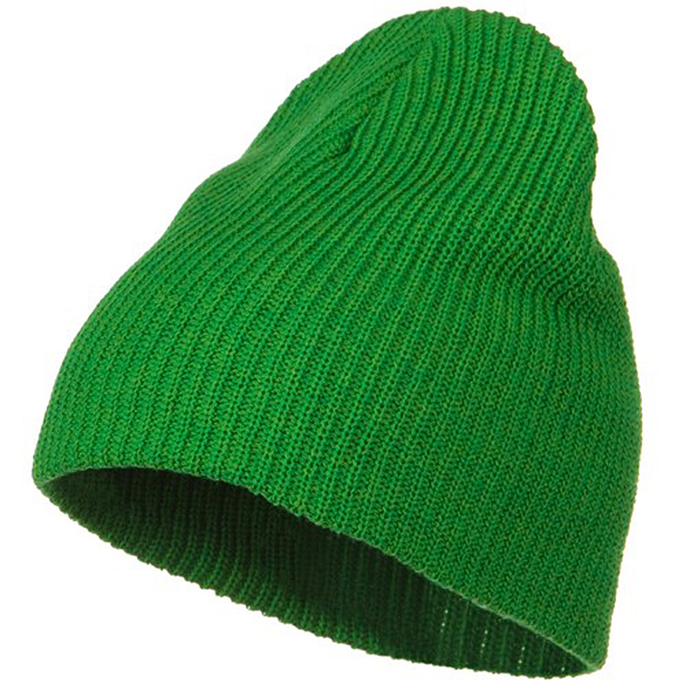 Eco Cotton Ribbed Big Classic Beanie - Kelly - Hats and Caps Online Shop - Hip Head Gear