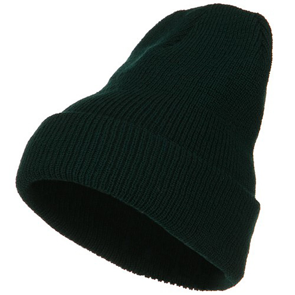 Big Stretch Heavy Wool Military Cuff Beanie - Spruce - Hats and Caps Online Shop - Hip Head Gear