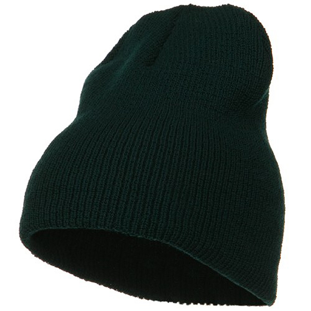 Big Stretch Heavy Wool Military Beanie - Spruce - Hats and Caps Online Shop - Hip Head Gear