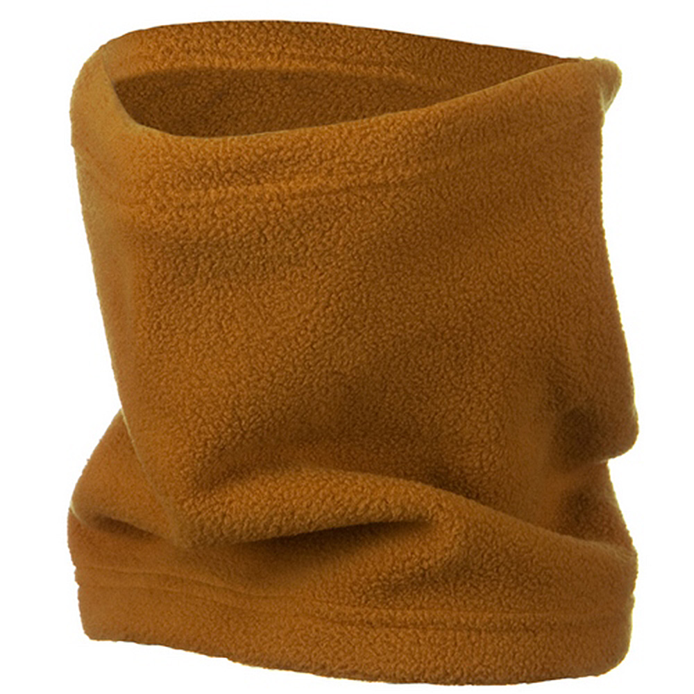 2 in 1 Neck Warmer with String - Khaki