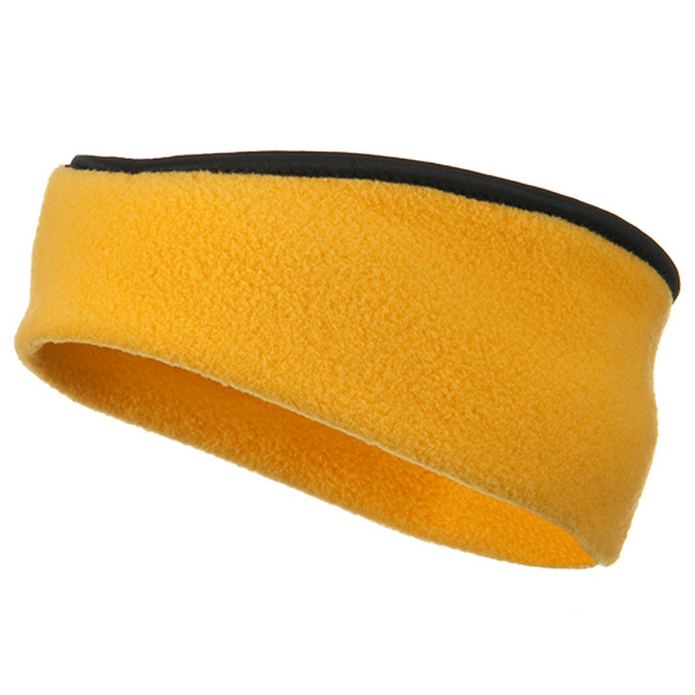 Earband With Binding - Gold - Hats and Caps Online Shop - Hip Head Gear