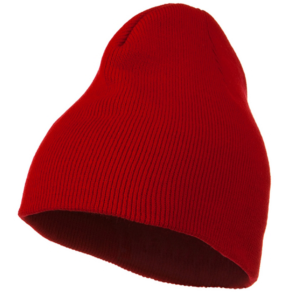 Classic Beanie Stretch - Red