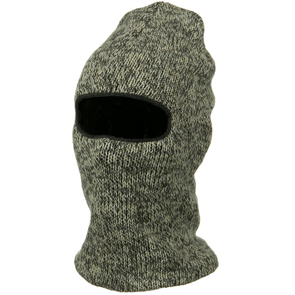 Ragg Wool Face Mask - Charcoal - Hats and Caps Online Shop - Hip Head Gear