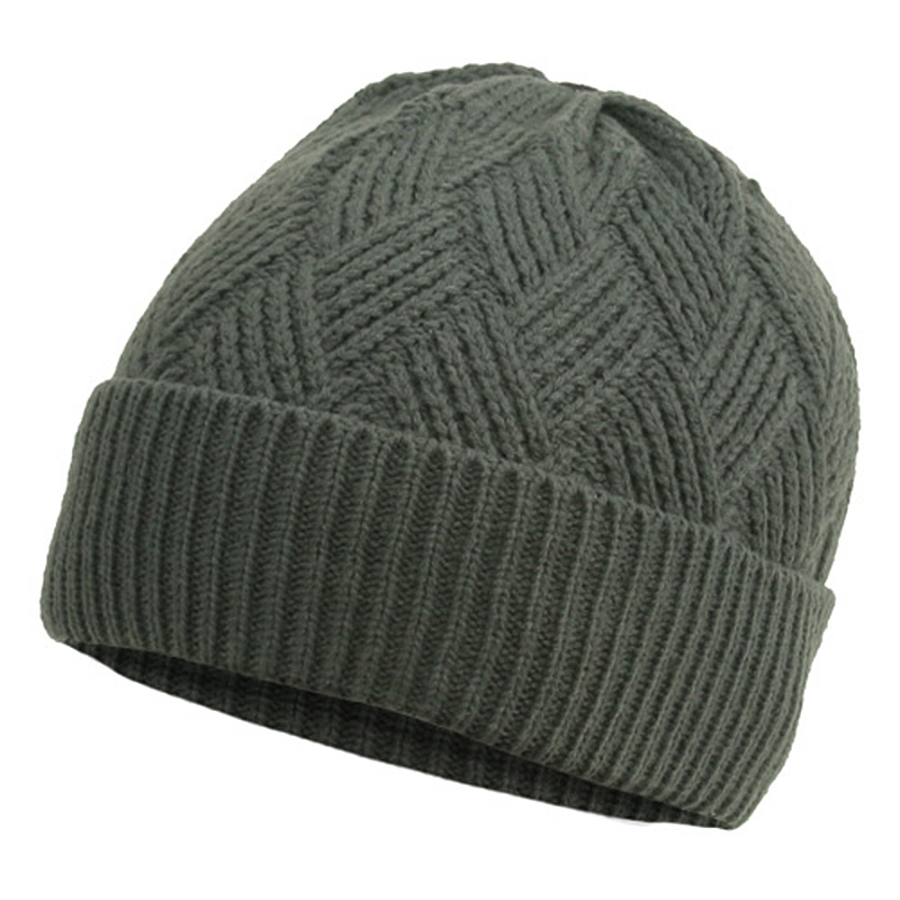 Acrylic Short Beanie-Light Grey - Hats and Caps Online Shop - Hip Head Gear
