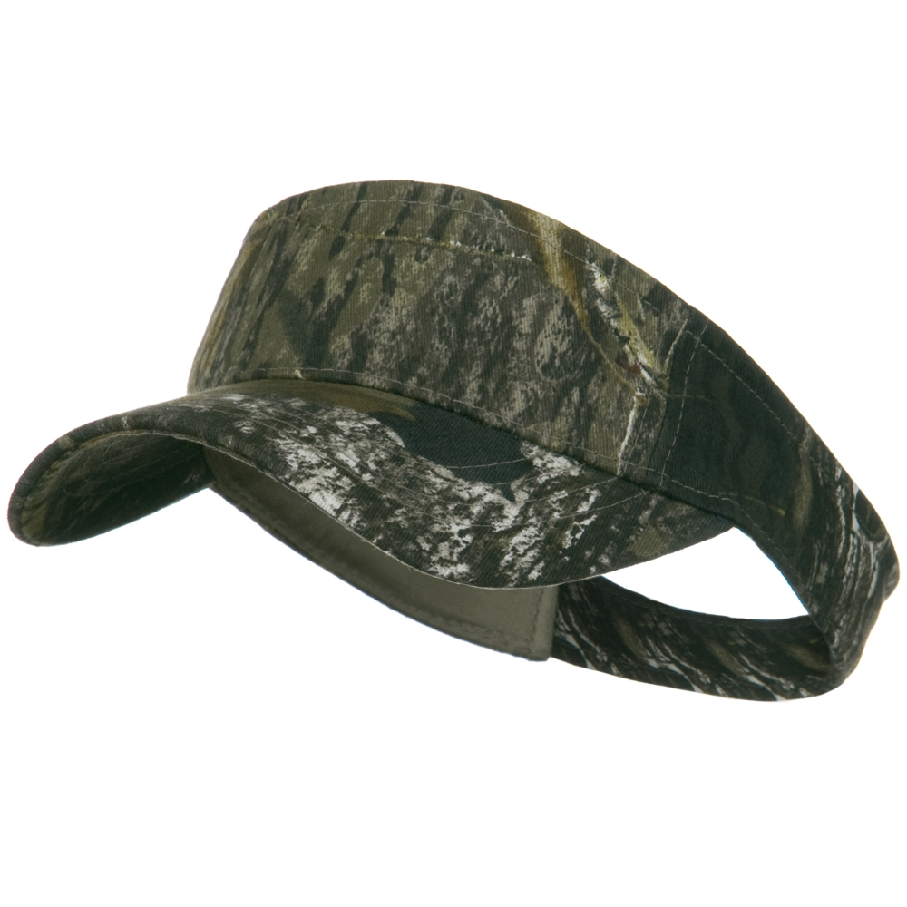 Garment Washed Camo Visor - Mossy Oak - Hats and Caps Online Shop - Hip Head Gear