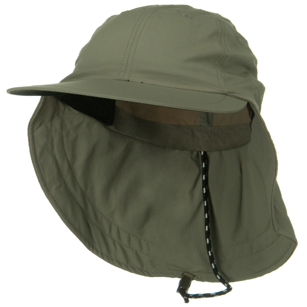 Outdoor Sunbuster Flap Cap - Moss - Hats and Caps Online Shop - Hip Head Gear