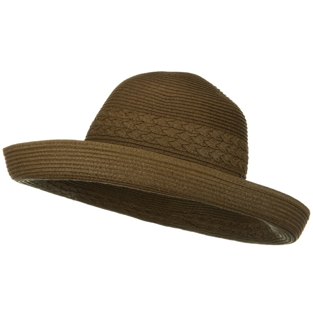 Julia Fashion Toyo Hat - Brown - Hats and Caps Online Shop - Hip Head Gear