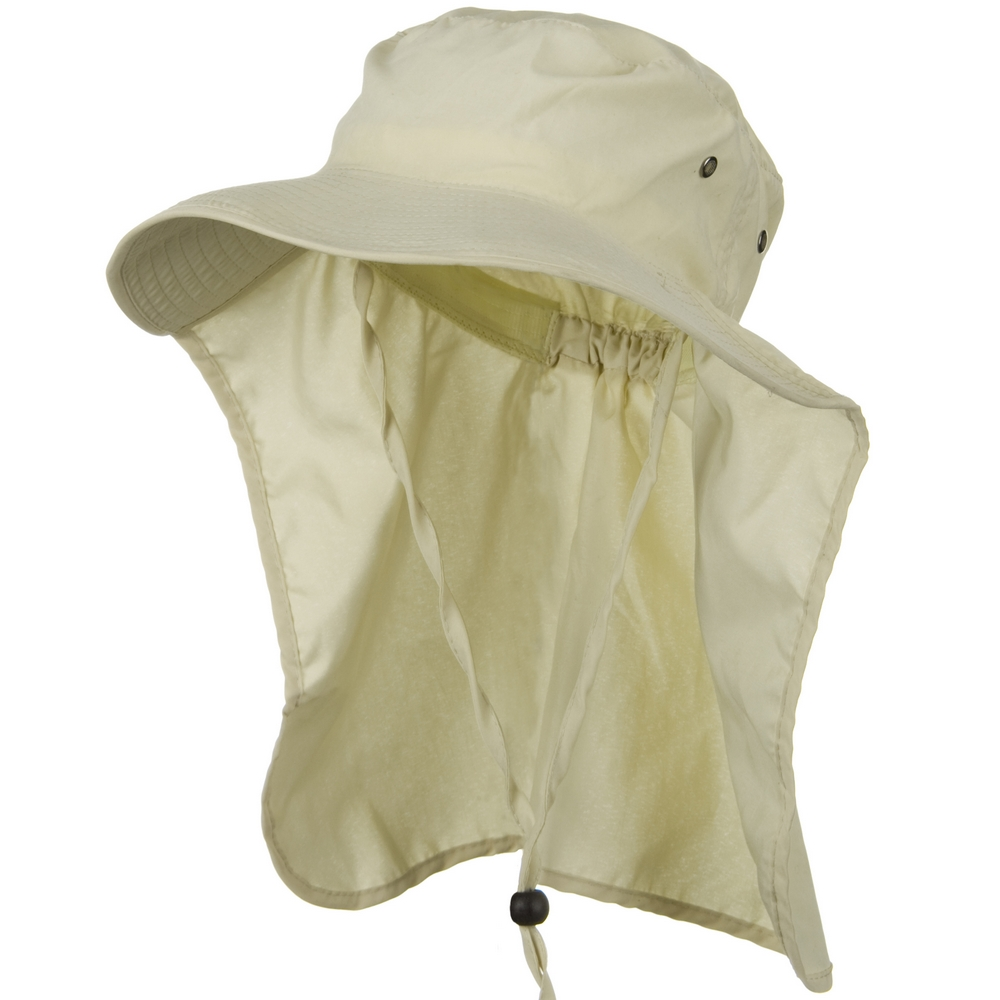 Gardening Flap Hat - Beige - Hats and Caps Online Shop - Hip Head Gear