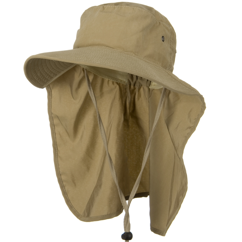 Gardening Flap Hat - Khaki - Hats and Caps Online Shop - Hip Head Gear