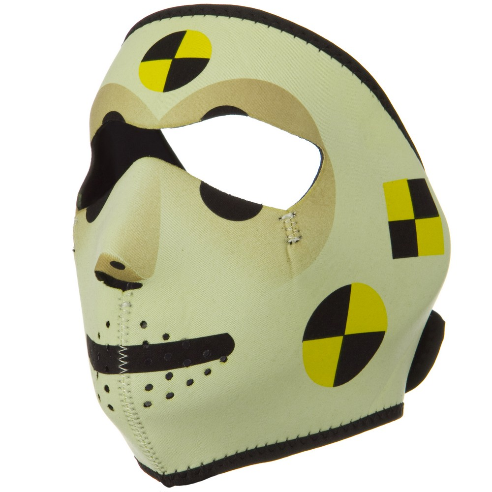 Neoprene Full Face Mask - Crash Test Dummy - Hats and Caps Online Shop - Hip Head Gear