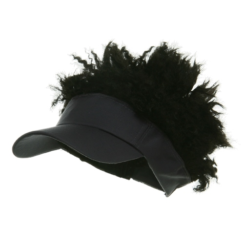 Afro Visor Cap - Grey Black - Hats and Caps Online Shop - Hip Head Gear