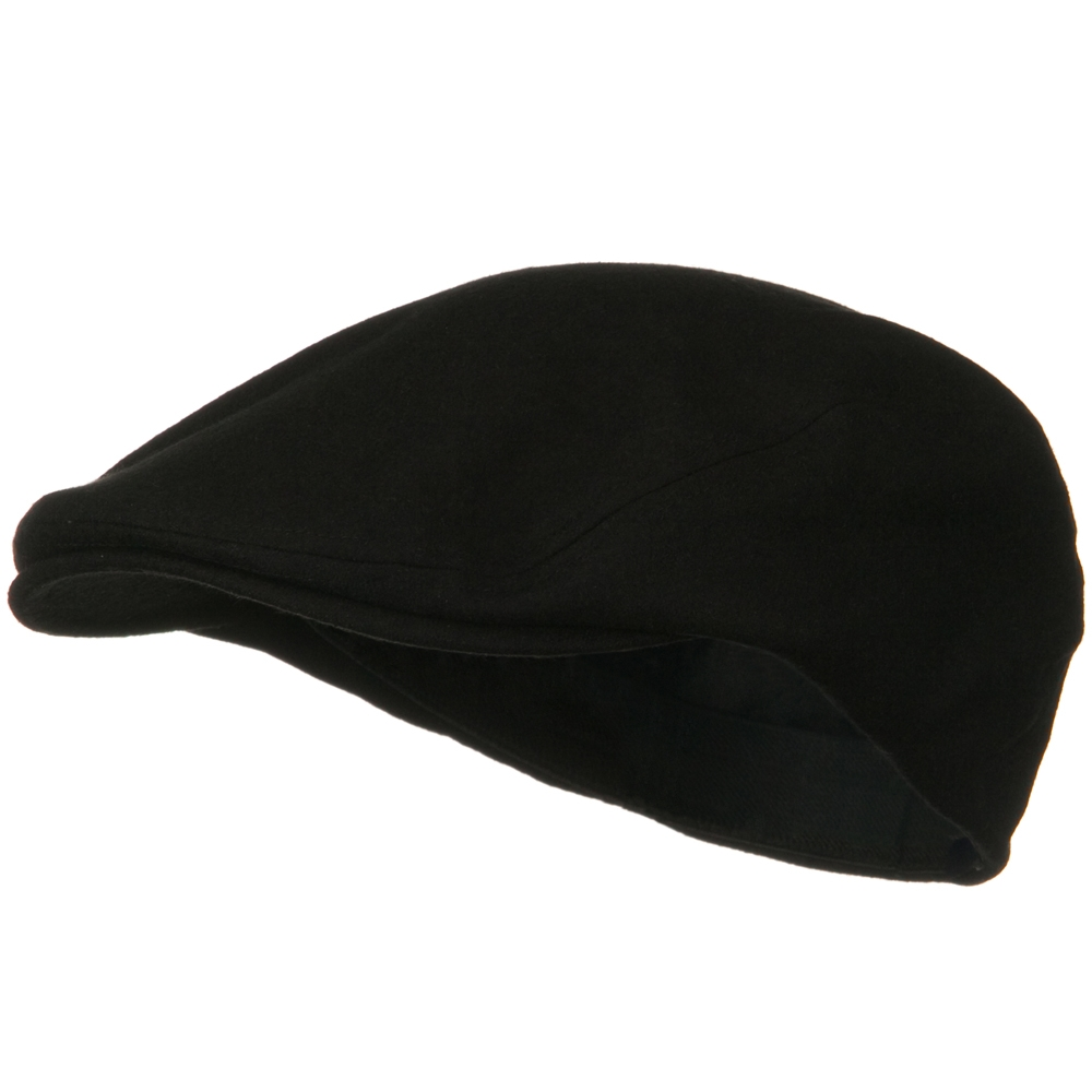Elastic Wool Ivy Cap - Black - Hats and Caps Online Shop - Hip Head Gear