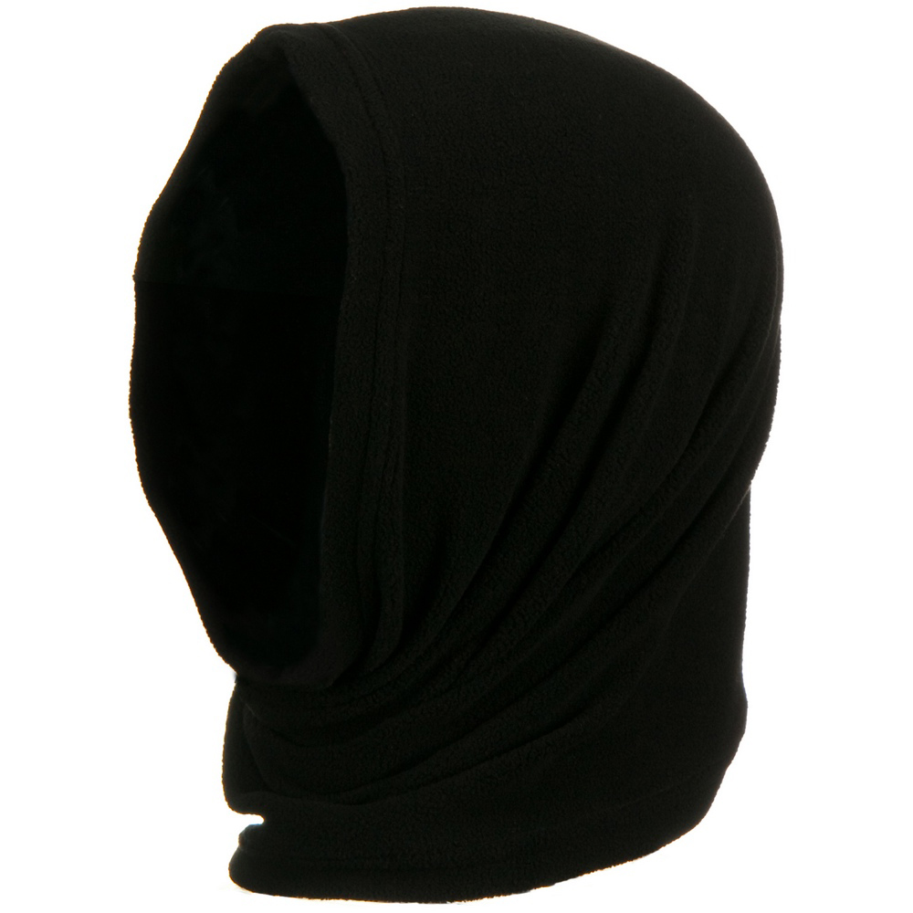 Motley Tube Fleece Spandex - Black - Hats and Caps Online Shop - Hip Head Gear