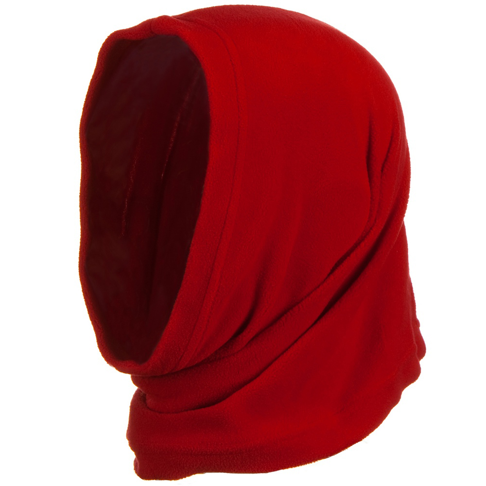 Motley Tube Fleece Spandex - Red - Hats and Caps Online Shop - Hip Head Gear