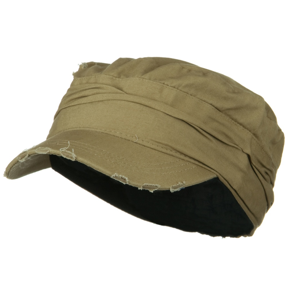 Vintage Army Cap-Tan - Hats and Caps Online Shop - Hip Head Gear