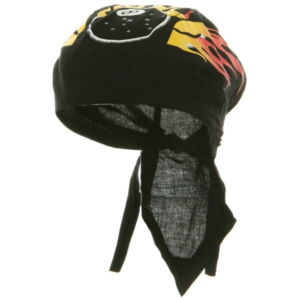 Flame Series Head Wrap-8 ball - Hats and Caps Online Shop - Hip Head Gear