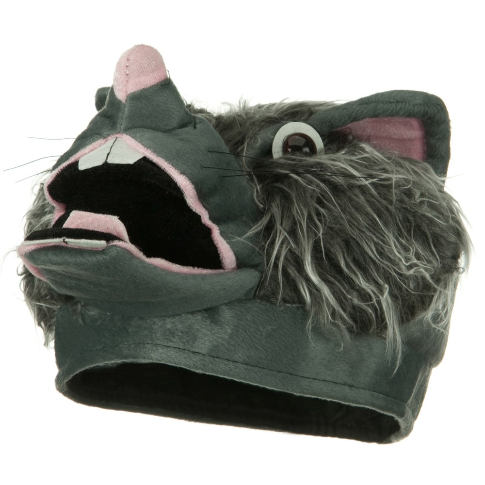 Wolf Hat - Grey Pink - Hats and Caps Online Shop - Hip Head Gear