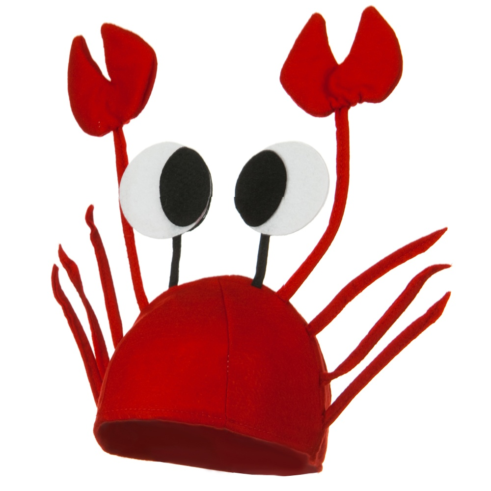 Crab Hat - Red - Hats and Caps Online Shop - Hip Head Gear