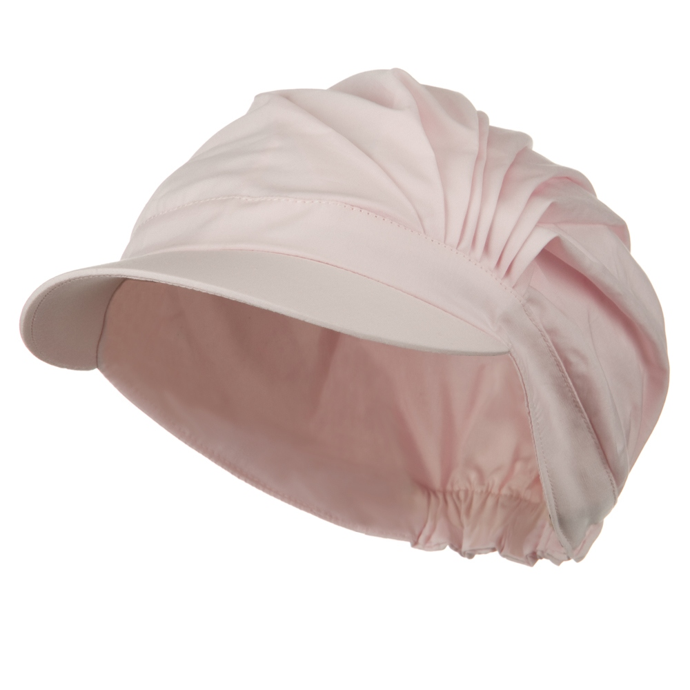 UV 50+ Cotton Pleated Hat - Light Pink - Hats and Caps Online Shop - Hip Head Gear