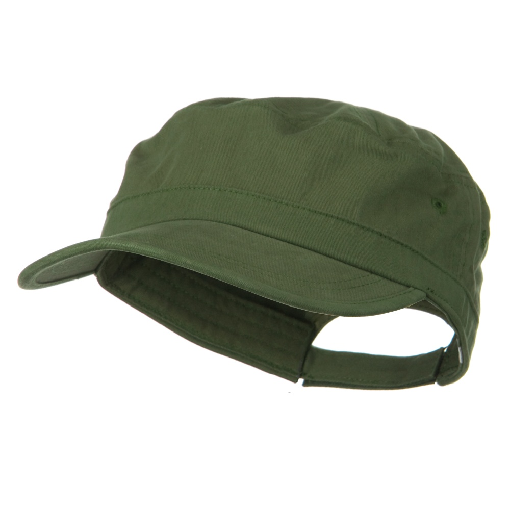 Big Size Solid Enzyme Military Army Cap - Olive - Hats and Caps Online Shop - Hip Head Gear