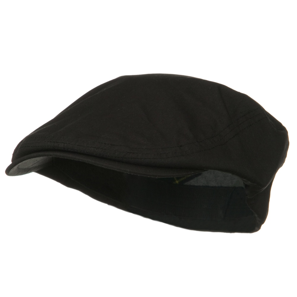 Waxed Cotton Canvas Ivy Cap - Black - Hats and Caps Online Shop - Hip Head Gear