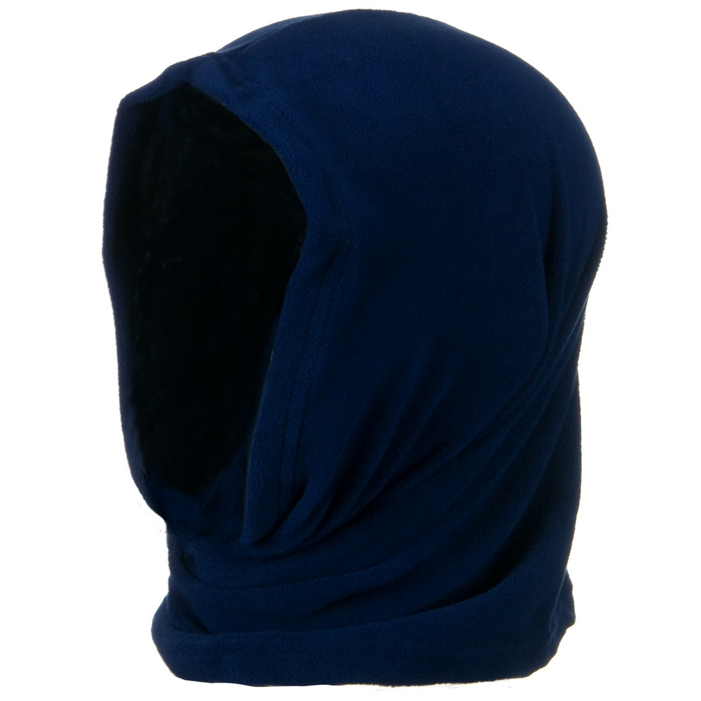 Motley Tube Fleece Spandex - Navy - Hats and Caps Online Shop - Hip Head Gear