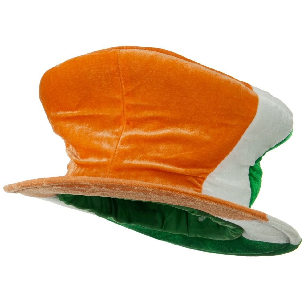 Irish Madhatter - Orange White Green - Hats and Caps Online Shop - Hip Head Gear