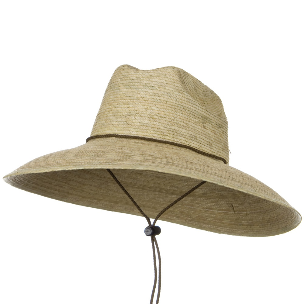 Safe Guard Straw Hat - Natural J Hat - Hats and Caps Online Shop - Hip Head Gear