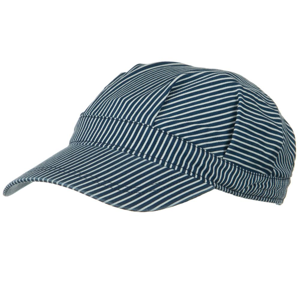 Youth Conductor's Cap-Blue White - Hats and Caps Online Shop - Hip Head Gear