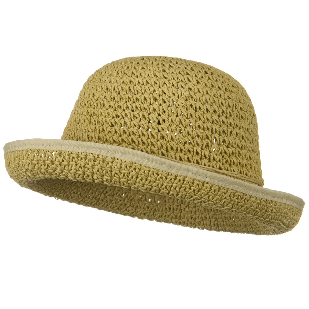 Girls Roller Toyo Self Tie Hat - Tan - Hats and Caps Online Shop - Hip Head Gear