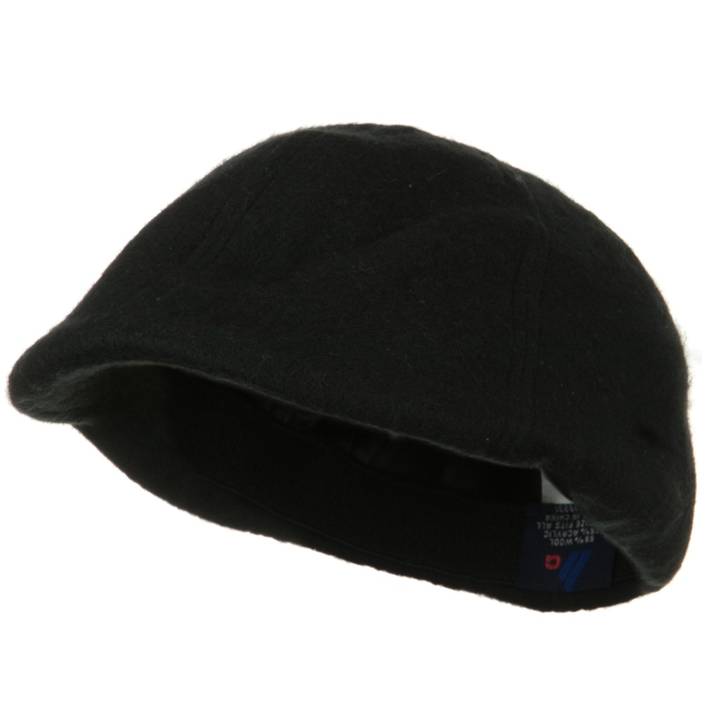 Wool Winter Ivy Cap - Black - Hats and Caps Online Shop - Hip Head Gear