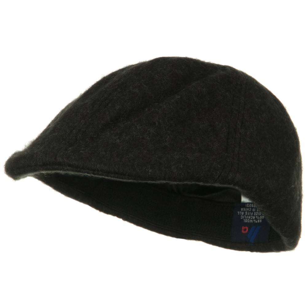 Wool Winter Ivy Cap - Charcoal - Hats and Caps Online Shop - Hip Head Gear