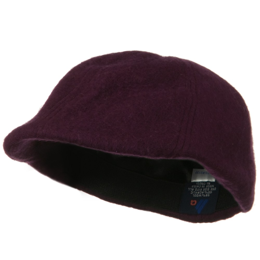 Wool Winter Ivy Cap - Maroon - Hats and Caps Online Shop - Hip Head Gear