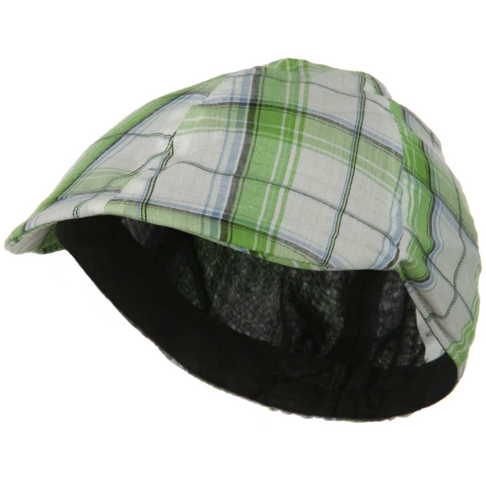 Toddler Plaid Duck Ivy Cap - Blue Green - Hats and Caps Online Shop - Hip Head Gear