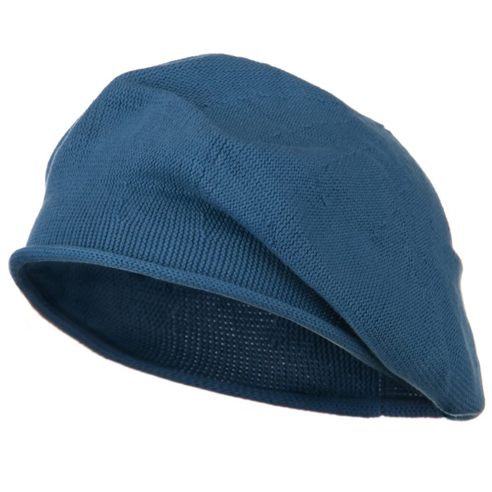 Toddler Rolled Brim Cotton Beret - Denim - Hats and Caps Online Shop - Hip Head Gear