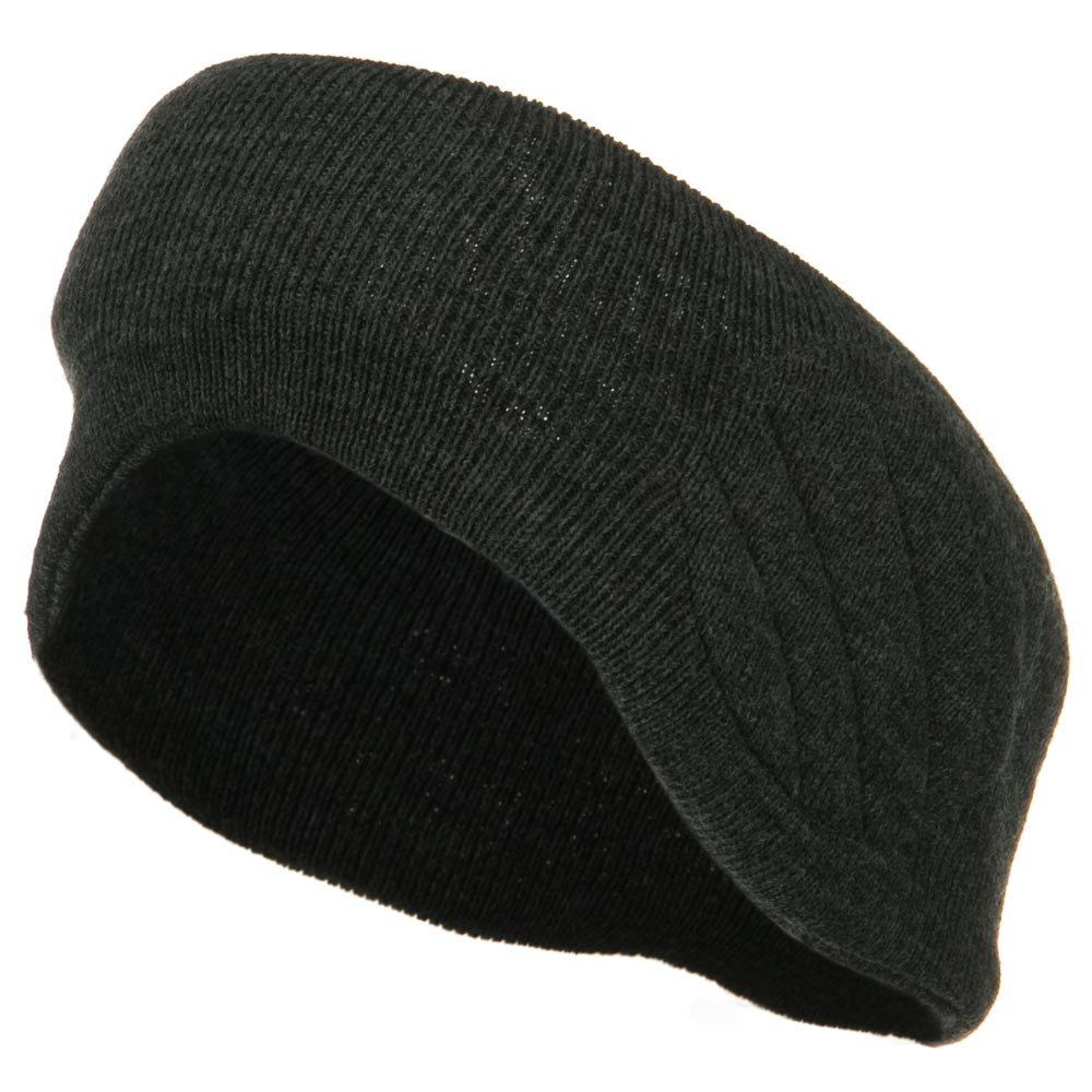 Acrylic Insulated Headband - Grey - Hats and Caps Online Shop - Hip Head Gear