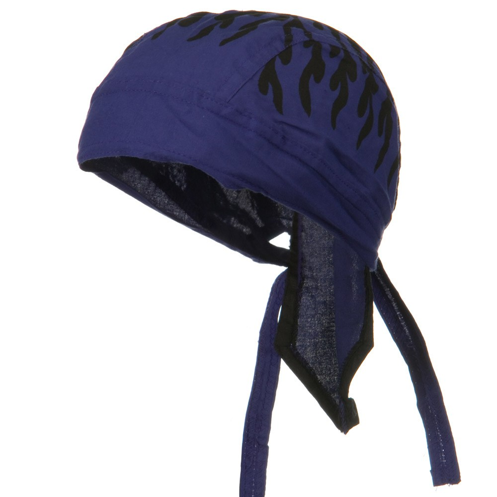 Flame Series Headwraps-Flame Purple - Hats and Caps Online Shop - Hip Head Gear