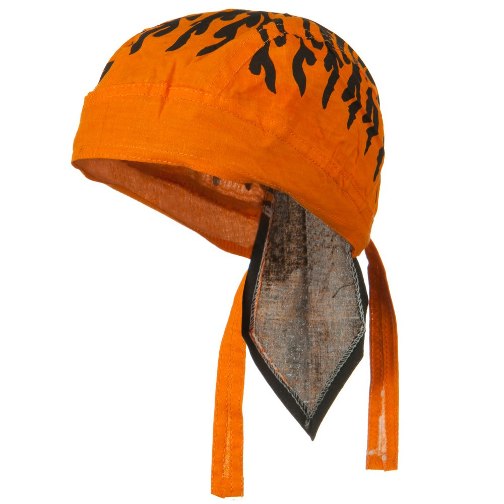 Flame Series Headwraps-Flame Orange - Hats and Caps Online Shop - Hip Head Gear